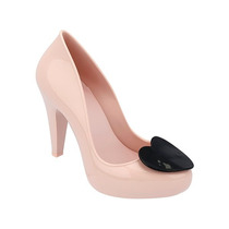 Mel Raspeberry Zapato Zapatilla Dama Rosa Neg Mel By Melissa