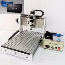 Minirouter Cnc Usb Fresadora 30x20 Pcb Nema23 Mach3 Aluminio