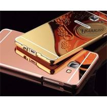 Funda Bumper Case Espejo Lujo Galaxy A5, A7 Y A8 2015