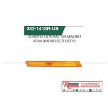 Cuarto Lateral Gm Malibu 97-03 Ambar/ Accesorios
