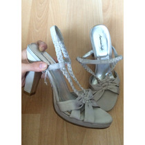 Zapatos Tacones American Eagle Satin Classy 100% Originales!