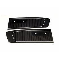 Mustang 65 Paneles De Puertas Negros