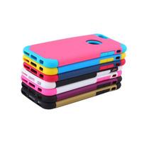 Funda Iphone 6/6s/6+/6s+ Híbrida Tpu+pc Bonitos Colores