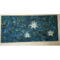 Pintura Hecha A Mano De 1.50 X 0.70 Abstracto.