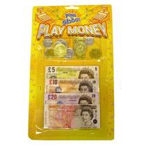 Dinero Falso - Niños Niños Inglés Falso Tocar Notas Monedas