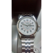 Reloj De Pulsera Citizen Mens Railway Cara Blanca