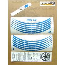 Stickers Calcas Cintas Rin 17 Paquete 12 Pzas Para Negocio