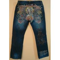 Christian Audigier Jeans Para Caballero 30x34. Hardy, True.