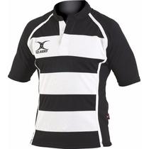 Playera Jersey Oficial De Rugby Gilbert Xact V/ Colores