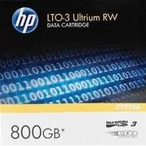 Cartucho De Datos Hp Lto-3 Ultrium Rw (c7973a)