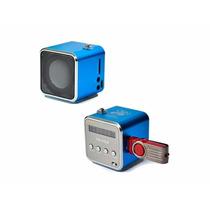 Bocina Portátil Reproductor Mp3 Radio Fm Altavoz Usb Micro