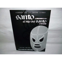 Timbres Postales Del Santo E Hijo Del Santo Edición Limitada