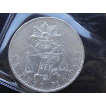 Moneda 1 Peso 1872 S Guanajuato Balanza Excelente