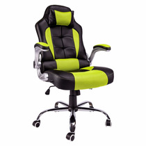 Tm Silla Office Chair Thick Padded Gaming Racing Style Recli