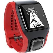 Tomtom Runner Cardio Reloj Negro / Rojo Un Tamaño - Hombres