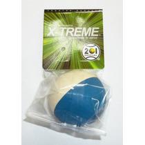 12 Pelotas Frontenis Xtreme Jumbo 2 Colores 201 Azul Blanca