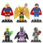 Birdman Superman Supergirl Brainiac Batzarro Cybo Tipo Lego