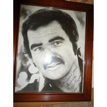 Burt Reynolds Autografo Coleccion Vintage Cine Internacional