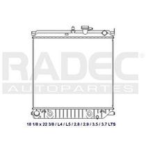 Radiador Chevrolet Colorado 2004-2005 L4/l5 3.5/ 3.7lts Aut