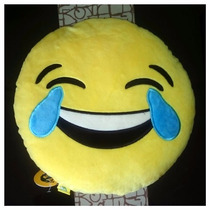 Peluche Cojín Emoji Whatsapp Lloro De Risa Original Empaque