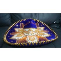Sombrero Charro Flor Mariachi Mexicano Colores Exportacion