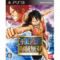 One Piece Pirate Warriors Japones Para Ps3 Nuevo Y Sellado