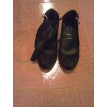 Zapatos Negros Capa De Ozono