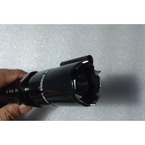 Oferta Lampara Tactica Led Con Descarga Apuntador Laser Rojo