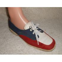 Zapatos De Boliche Para Dama Tricolor, Numero 22-22.5