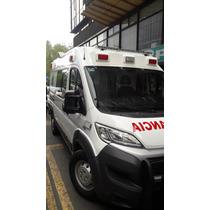 Ambulancia Fiat Ducato 2016