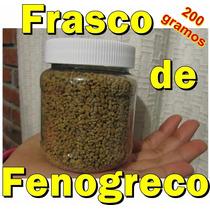 Frasco De Fenogreco En Semilla 200 Gr Alholva Trigonella