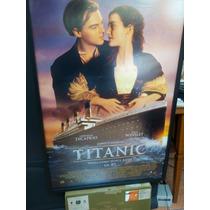 Poster Enmarcado Titanic 3d James Cameron