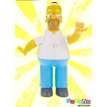 Homero Simpson Figura Parlante Coleccionable Edición 25 Años