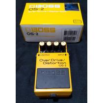 Boss Os-2 Overdrive / Distortion Pedal Guitarra 2 En 1