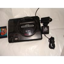 Excelente Y Antiguo Sega Genesis Para Reparar O Para Partes,