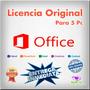 Office Professional Plus 2013 Licencia Original 5 Pc