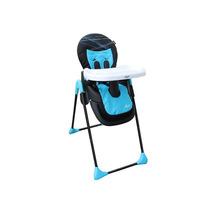 Silla Alta Alix Plegable 3 Pos 6 Alt Led Azul Infanti