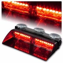 Tb Luces Policiacas Hugo High Intensity Led Windshield