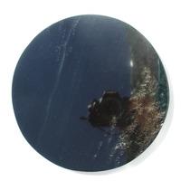 Espejo Obsidiana 20cm 1187