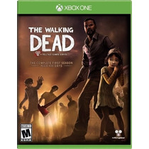 The Walking Dead First Season Para Xbox One Nuevo Y Sellado