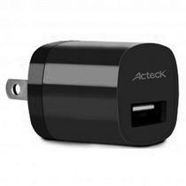Acteck Cargador De Pared 1a Smarthphone Tablet Cd002 Negro