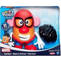 Sr Cara De Papa Spider Man Plaskool Hasbro 11pza