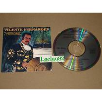 Vicente Fernandez El Charro Mexicano 1991 Columbia Cd