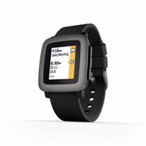 Pebble Time Smartwatch 22mm Iphone Y Android Contra Agua