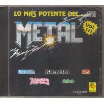 Lo Mas Potente Del Metal - Vol. 3 ( Metal Mexicano ) Cd Rock
