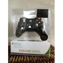 Control Inalambrico Xbox 360 Chrome Cromo Nuevo Y Original