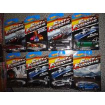 Hot Wheels Rapido Y Furioso Serie 2015 8 Modelos