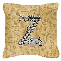 Letra Z Del Alfabeto Del Instrumento Musical De La Lona De L