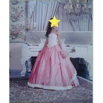 Elegante Vestido X V Años Usado
