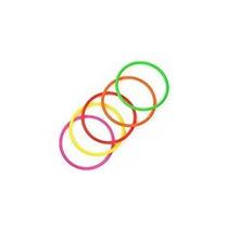 Cosmos 10 Piezas Tamaño Mediano Plástico Toss Anillos De Vel
